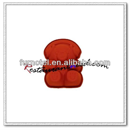 V104 Silicon Little Teddy Bear Shape Cake Mould