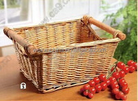 2016 Wholesale Lined Wicker Basket