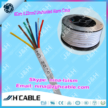 Free Sample multicore Unshield Security Alarm Cable With Lower Price