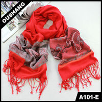 A 101-E Fashionable Classic Red Lady scarf shawl