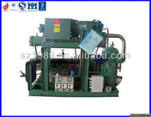 50HP Water cooled Bitzer Screw Compressor Condensing Unit