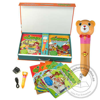 Children English Book Growing Up and Smart Reading Pen for  Preschool Kids Learning English in Philippine