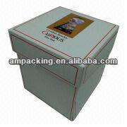 Printed Rigid Gift Packaging Box for Candles