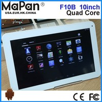 MaPan New arrival Tablet PC , cheap 8gb ram laptop 10inch Quad core cheap tablet pc with Android 4.4 BT FM WIFI