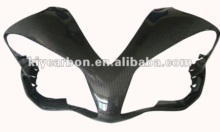 Carbon fiber front fairing for Yamaha motorcycle
