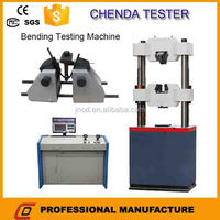 WEW-300B computer display hydraulic universal testing machine+ measurement instrument+building material tester