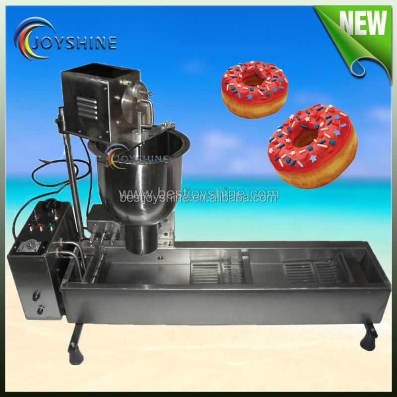 American Market snake food shop using commercial donut making machine