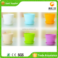 Manufacturer Supply Cheap Decorative Flower Pot Plastic Plates