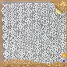 Shaoxing Supplier Chemical Polyester Spandex Hand Stone Embroidery Fabric