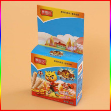 custom paper egg roll packing box with cartoon design