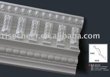 Gypsum replacement Large Carving PU Cornice Moulding