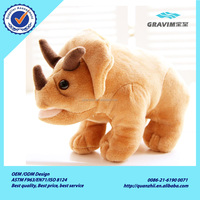 2015 New Style Rhino Plush Toys For Promotional Gift