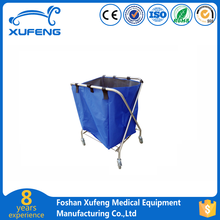 Medical linen hospital laundry trolley