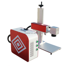 Max Raycus IPG 20W 30w 50w fiber laser marking machine for watches auto parts buckles metal