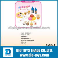 colorful simulating plastic ice cream maker toy for sale