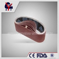emery sanding belt for machines