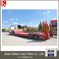 Low Bed Semi Trailers Used For
