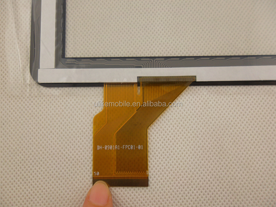 9'' inch DH-0901A1-FPC01-01 Touch Digitizer Screen Panel Glass