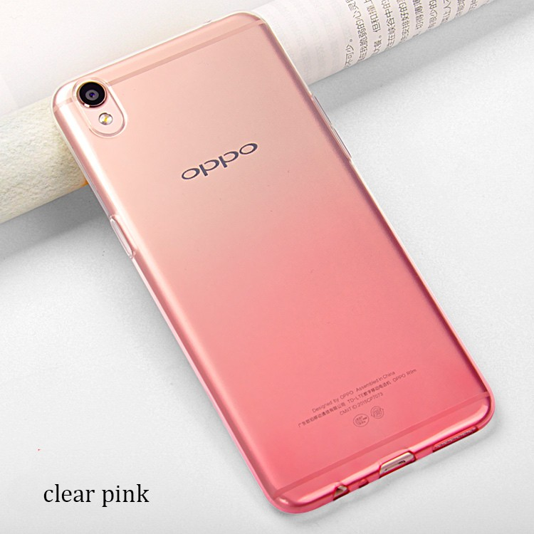 DFIFAN Wholesale Phone Accessories For OPPO F1s Soft TPU Transparent Color Changing Back Case For OPPO F1s Protective Cover