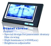 Dental x ray film viewer / dental film equipment