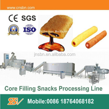 Automatic Core Filling Snack Machine
