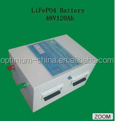 High safety and long cycle life Customized 48V 120Ah lifepo4 battery back
