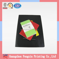 Made in China Gluing Binding Recycle Paper Bamboo Notebook