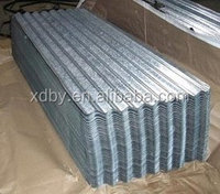 Galvanized Color corrugated iron sheet specification