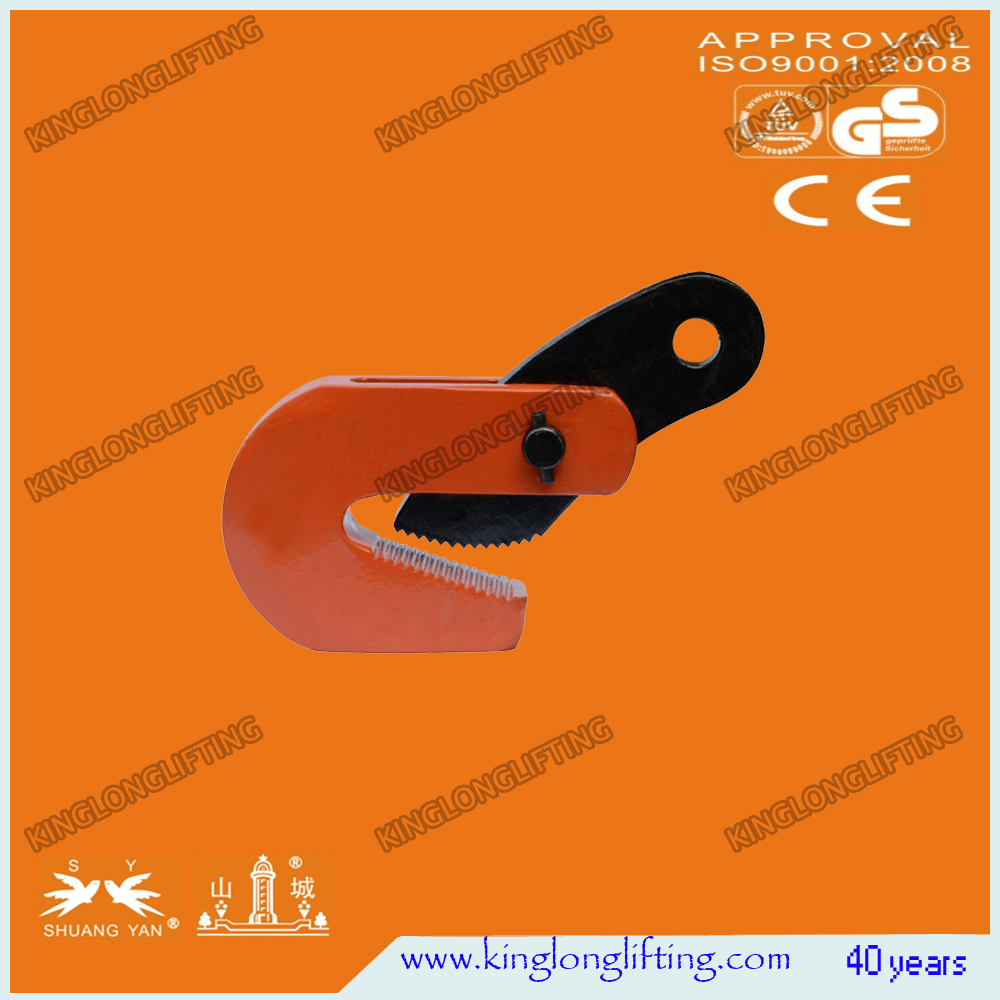 L Type Horizontal Clamp Tool Lifter for Lifting Steel Plate