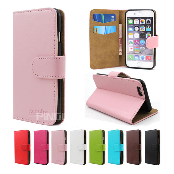 Hot selling crystal grain leather phone case for Coolpad 5721 , flip wallet case for Gionee Marathon M5