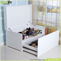 Ebay new hot selling Big shoe bench shoe organizer shoe box