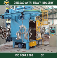Overhead rail shot blasting machine general industrial equipment