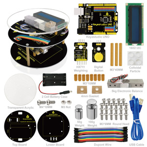 Keyestuido DIY Electronic Scale Starter Kit For Arduinos Education Programming based on UNO R3 + 64 Page Book Manual