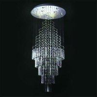 Water fall wedding modern table centerpieces crystal chandelier ceiling pendant lamp lighting 91002