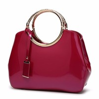 Fashion trends elegant famous bridal leather ladies bags women handbags