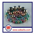 steel balls colored