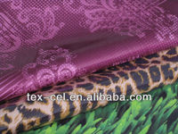 Printed polyester fabric laminated PVC