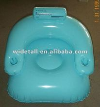 pvc inflatable seat sofa/ promotional adversing toys
