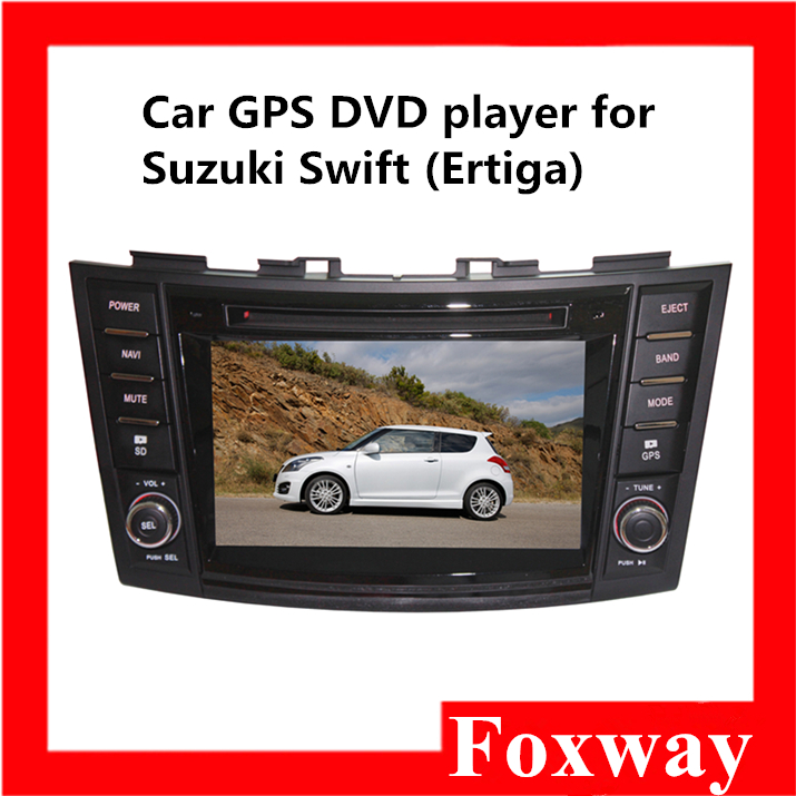 Factory car DVD audio player for Suzuki swift with quad core,mirror link,gps navigator,FM bluetooth,Wifi