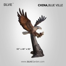 large classic eagle bronze sculpture BRAA-27