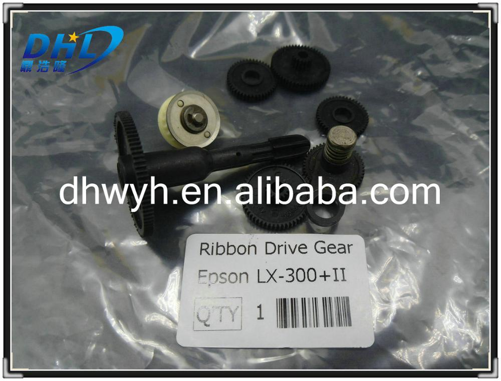 dot-martrix printer parts Ribbon Drive Gear Assy Refurbish for Epson LX300+II LX300+2 for Epson F0146701