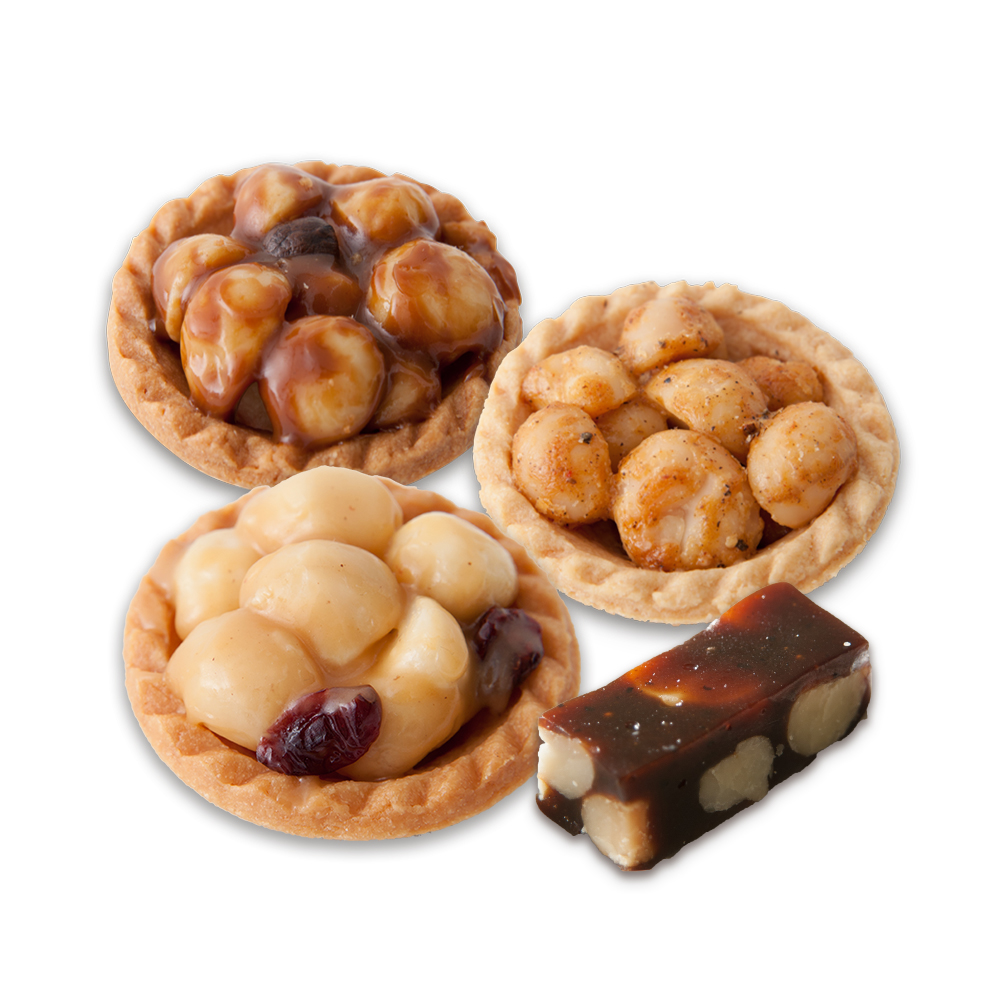 Taiwan online hot selling macadamia pastry jujube paste sweets snack gift set