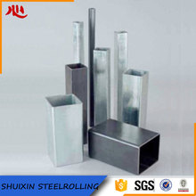 factory directly galvanized square ASTM Q195 steel pipe price