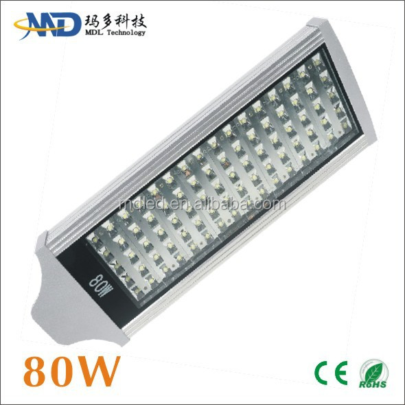 80W led street lamp AC90-277V Or DC12V Meanwell Bridgelux led street light 80 watt fuel cell hydrogen generator