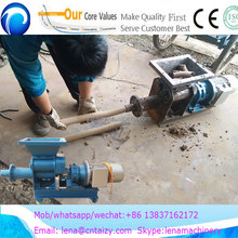 Small clay vacuum extruder pug mill for ceramic industry/Training clay machine008613837162172