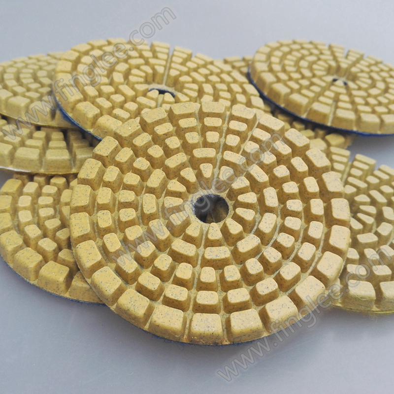 High quality and super long working life,dry Concrete polishing pads