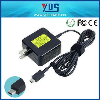 New ultrabook 19V 1.75A special usb 6 pin Laptop ac power adapter for ASUS Netbook Eeebook