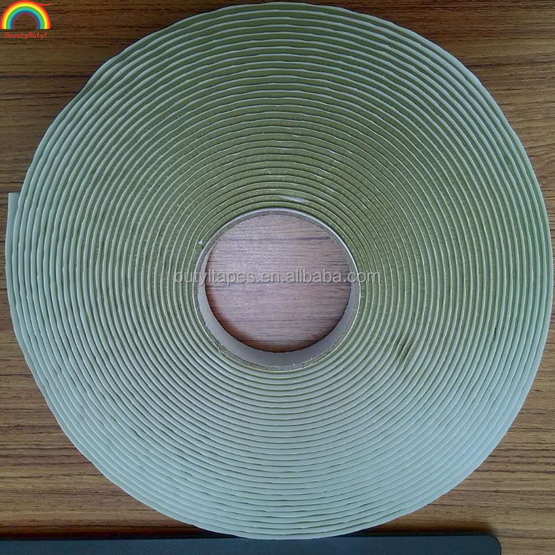 China manufacture yellow vacuum bag butyl sealant tape