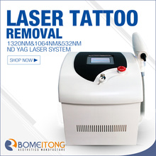 1064 / 1320 / 532 nm home use Q-switch nd yag Laser pigment removal