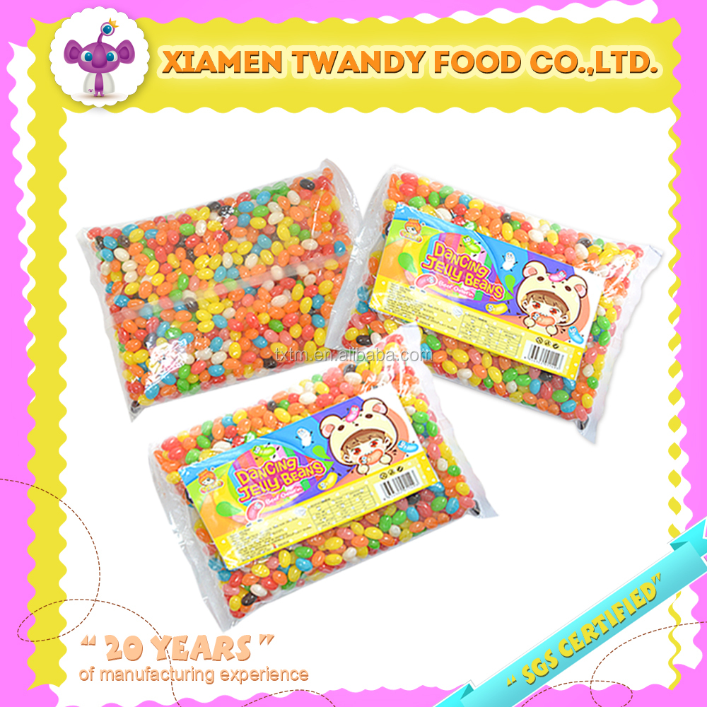 Colorful jelly belly jelly bean